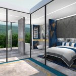 Projektowanie wnętrz apartamentu hotelowego - Architekt Wnętrz WKWADRAT - projektowanie hoteli