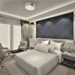 Projekt wnętrza pokoju w hotelu - Architekt wnętrz Wkwadrat - projektowanie wnętrz hoteli
