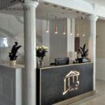 projekt wnętrz recepcji w hotelu - Architekt wnętrz WKWADRAT - projektowanie hoteli