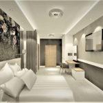Aranżacja wnętrz pokoju hotelowego - Architekt Wnętrz Wkadrat - projektowanie hoteli
