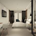 Projekt wnętrza pokoju hotelowego - Architekt Wnętrz WKWADRAT - projektowanie hoteli